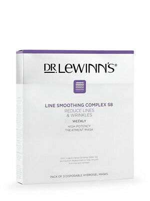 £26.49 • Buy NEW DR. LeWinn's Line Smoothing Complex High Potency Treatment Mask 3Piece Pack