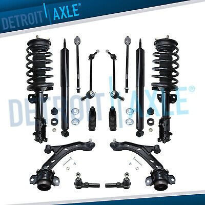 $395.37 • Buy 2005 2006 2007 2008 Ford Mustang Base GT Front Strut Control Arms Suspension Kit