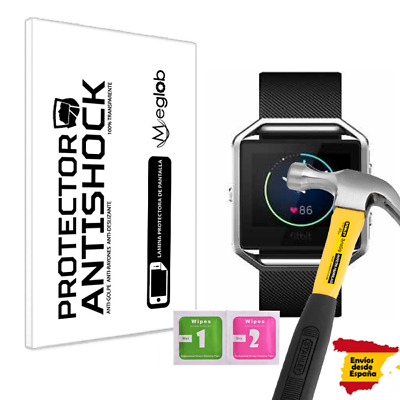 AU2.54 • Buy Screen Protector Antishock For Fitbit Blaze
