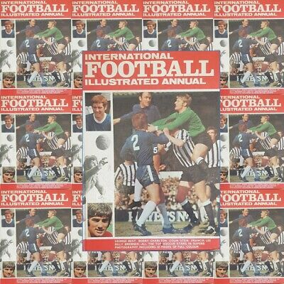 £3.20 • Buy International Football Illustrated Annual 1970 Pictures - Various Teams Players
