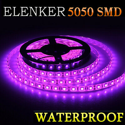 $12.70 • Buy 5050 Waterproof LED Strip Light 16ft For Boat / Truck /Rv/ Suv /Car Rv Purple 5M