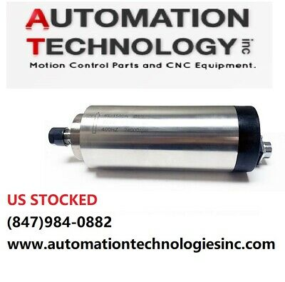 $159 • Buy 1.5KW (2HP) AIR-COOLED SPINDLE 80mm MOTOR, ER16, Engraving, Milling For CNC