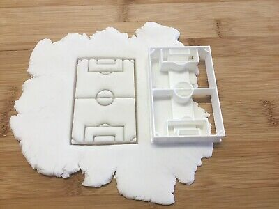 £3.50 • Buy Football Pitch Cookie Cutter, Biscuit, Pastry,Fondant Cutter
