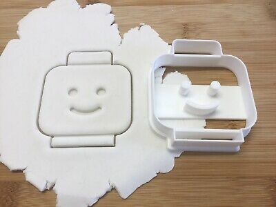 £5.50 • Buy Lego Man Head Cookie Cutter Biscuit, Pastry, Fondant Cutter