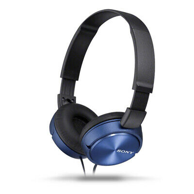 AU54.80 • Buy Sony MDR-ZX310AP Stereo Over-Ear Headphones - Blue - [Au Stock]