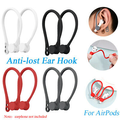 $ CDN3.35 • Buy For Apple AirPods Silicone Wireless Earphone Accessories Protector Earhooks-