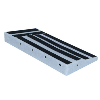 $ CDN68.74 • Buy Guitar Pedal Board Pedal With 10 Hidden Cable Holes Keep The Board Well