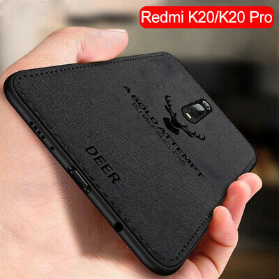 $2.99 • Buy For Xiaomi Mi 9T Pro 9 Lite SE Case Fabric Cloth Leather Soft Silicone TPU Cover