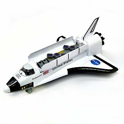 Large NASA Space Shuttle Die Cast Model Toy - Diecast Gift Idea • 11.99£