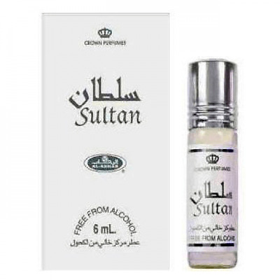 Sultan - Concentrated Perfume Oil 6ml Roll On Bottle By AL-Rehab Non Alcohol  • 2.50£