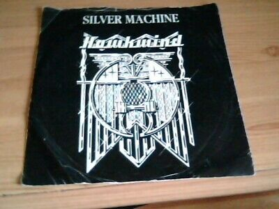 Hawkwind Silver Machine / Seven By Seven Up 35381 Picture Sleeve Vg/g Lemmy • 3.99£