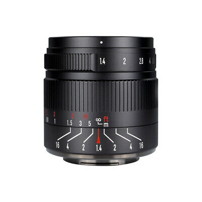 $ CDN209 • Buy 7artisans 55MM F1.4 MANUAL Fixed LENS For Sony E Mount A7, A7II, A7R,nex,A7iii