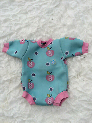 £14 • Buy Splashabout Baby Snug, Turquoise Blue Pink Trimmings + Design, 0-3 Months Approx
