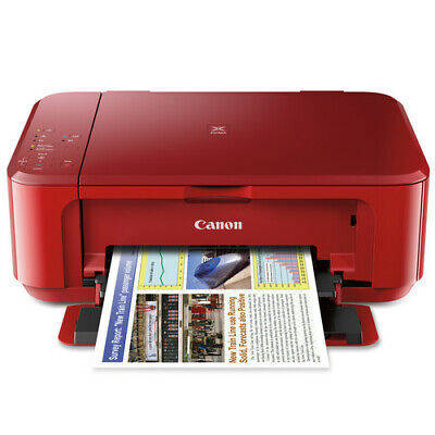 View Details NEW! Canon PIXMA MG3620 Wireless All-in-One Inkjet Printer Red (No Ink Included) • 49.00$