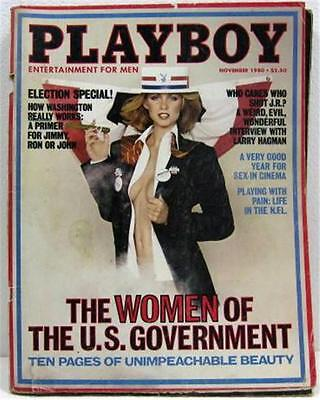 $ CDN10.56 • Buy Playboy Magazine November 1980 Jeana Tomasino Mardi Jaquet Women US Government