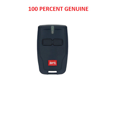 AU57.20 • Buy BFT Garage Door Gate Remote Mitto B RCB2 BFT Genuine 2- Channel Remote 433.92MHZ