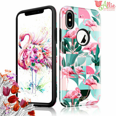 AU10.68 • Buy For Apple IPhone Xs Max 8 Plus 7 [Flamingo] Pattern Stick Stand Case For Girls