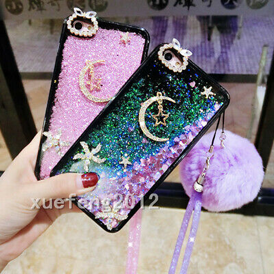 AU17.99 • Buy Dynamic Liquid Glitter Quicksand Soft TPU Phone Case Cover For OPPO Z#
