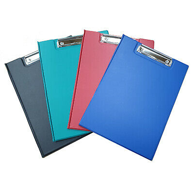 A4 Clipboard Fold Over Clip Board Writing Office Document Holder - UK Stockist  • 3.29£