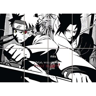Naruto Anime Manga Giant Wall Mural Art Poster Picture Print 47x33 Inches • 12.99£
