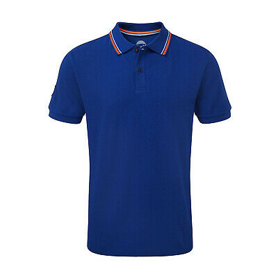 Gulf Racing Motorsport Endurance Team Mens Polo Shirt Blue Official Merchandise • 19.99£