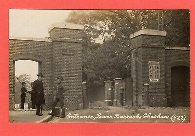 £10.50 • Buy Entrance Lower Military Naval Barracks Chatham RP Pc Used W Naylar Ref  S25