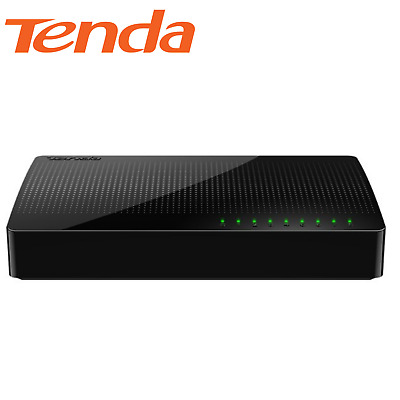 AU31.99 • Buy Tenda SOHO SG108 8 Port Gigabit Ethernet Unmanaged Desktop Network Switch