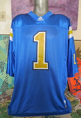 fb33b49f1 Men's UCLA BRUINS #1 Adidas Football Jersey 2XL XXL • 19.99$