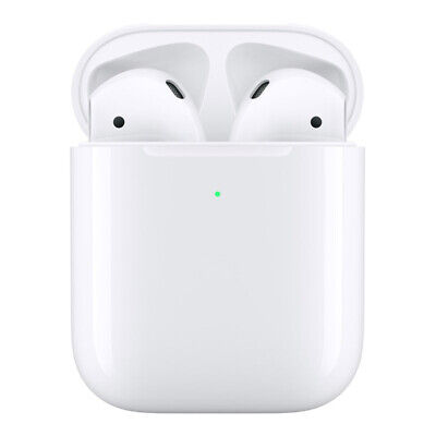 AU303.45 • Buy Apple AirPods (2nd Gen) With Wireless Charging Case A2032 - White