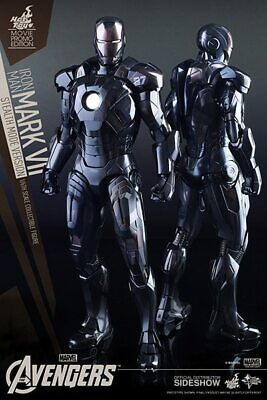 $ CDN628.05 • Buy Hot Toys MMS282 Iron Man Mark 7 VII Stealth Mode Brand New Sealed 1/6 Scale