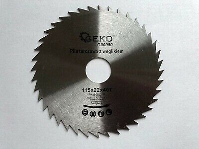 £5.99 • Buy Saw Blade Angle Grinder For Wood Cutting Disc NON-TIP 115x22x40T