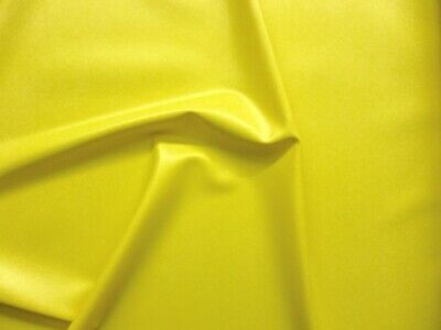 £5 • Buy Latex Rubber 0.20mm Thick, 92cm Wide, Yellow, Seconds