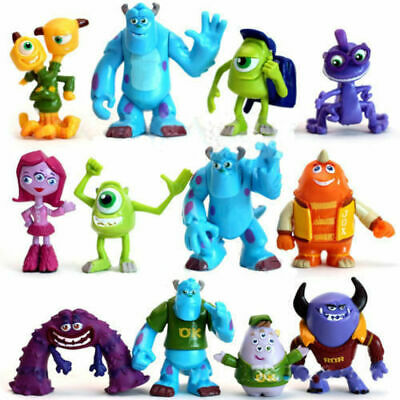 £11.99 • Buy Hot 12 PCS Monsters Inc. Monsters University Mike Sully Action Figure Toy Gift