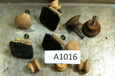 $10.49 • Buy (11) Pcs. - Assorted Wooden Ball Knobs - Some W/ Screws  # A1016