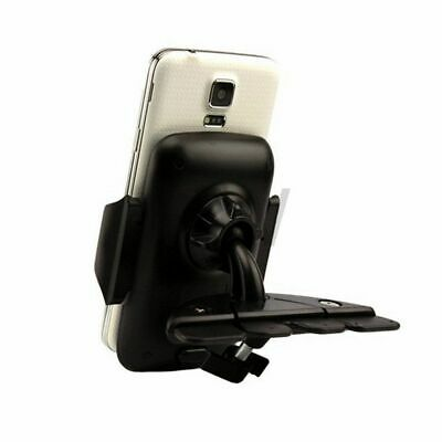 Car Auto CD Slot Cradle Holder Stand Mount For Phone Iphone 7 Plus Samsung GM • 9.51AU
