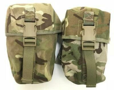 £9.99 • Buy British Army MTP Large Pouch X 2  Osprey MOLLE  Used Webbing Airsoft Paintball