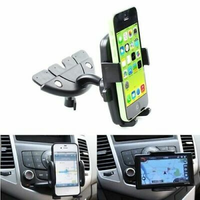 Car Auto CD Slot Mount Cradle Stand Holder For Cell Mobile Smart Phone GPS VU • 9.51AU