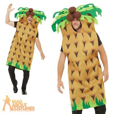 Adults Palm Tree Costume Stag Do Tropical Mens Womens Funny Fancy Dress Outfit • 27.49£