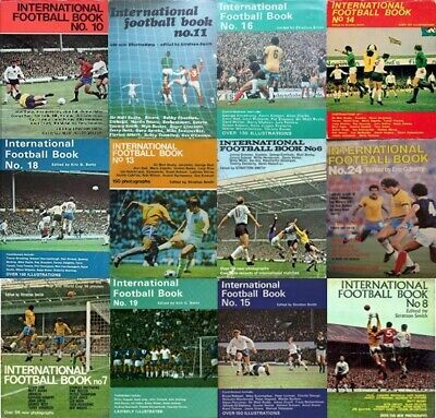 £2.85 • Buy International Football Book 1965 Foreign UK Single Player Pictures Various Teams
