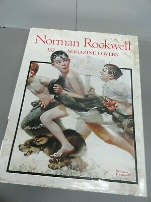 $ CDN19.75 • Buy  Norman Rockwell 332 MAGAZINE COVERS Large Coffee Table Hardcover Book 15''x12''