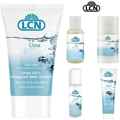 £11.86 • Buy LCN Professional Urea Foot Skin Cream For Thick Chapped Callused Skin 10-40%