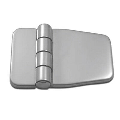 Stainless Steel Marine Boat Door Cabin Stamp Strap Hinge With Cover Silver • 5.68£