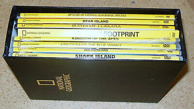 $ CDN65.72 • Buy NATIONAL GEOGRAPHIC LOT OF 8 DVDs In SLIMCASE - 7 SEALED/1 OPEN (SL-01)