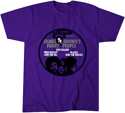 $17.95 • Buy People Records Promo T-Shirt - Classic Soul - James Brown