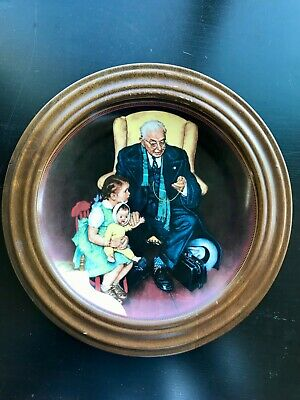 $ CDN35 • Buy Norman Rockwell  Tender Loving Care   Knowles Limited Edition 8-1/2  Plate