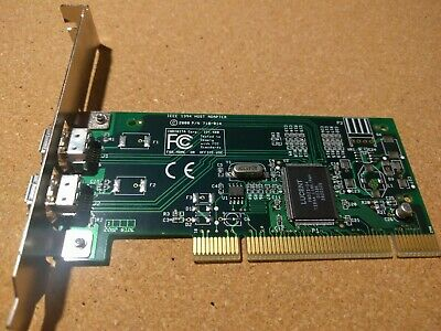Host Adapter IEEE 1394 710-014 IDT 481 PCI Card Used • 18.60£