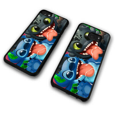 Tongue Out Stitch Koala Dog Alien Toothless Disney Cute Funny Phone Case Cover • 5.99£