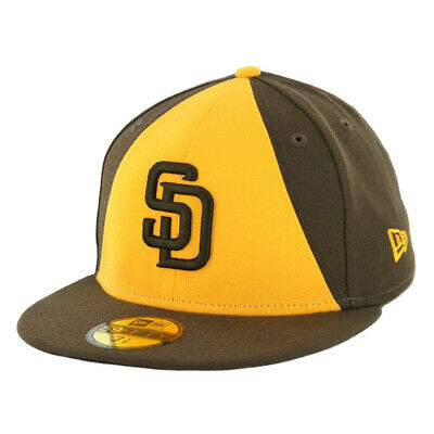 7a285d17 New Era 5950 San Diego Padres 50th Anniversary ALT 2 Fitted Hat (BR) Men's