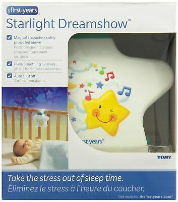 Starlight Dreamshow Baby Night Light White Ceiling Projector Lullaby • 14.98£