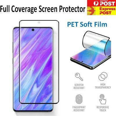 AU4.93 • Buy 2X Full Film Screen Protector For Samsung Galaxy S21 S20 Ultra S10 5G S10e S10+